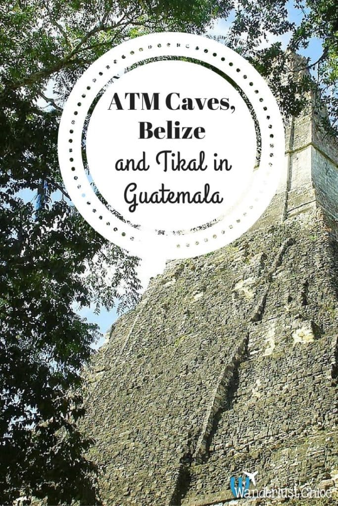 ATM Caves, Belize and Tikal, Guatemala