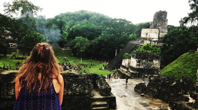 Exploring the ATM Caves in Belize and Tikal in Guatemala