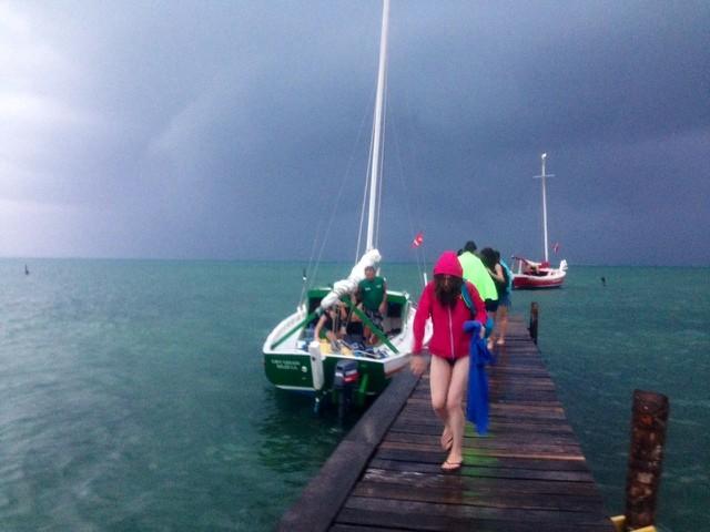 Wanderlust Chloe Caye Caulker Thunderstorm