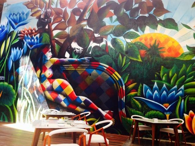 Wanderlust Chloe Hotel Cacao Mural