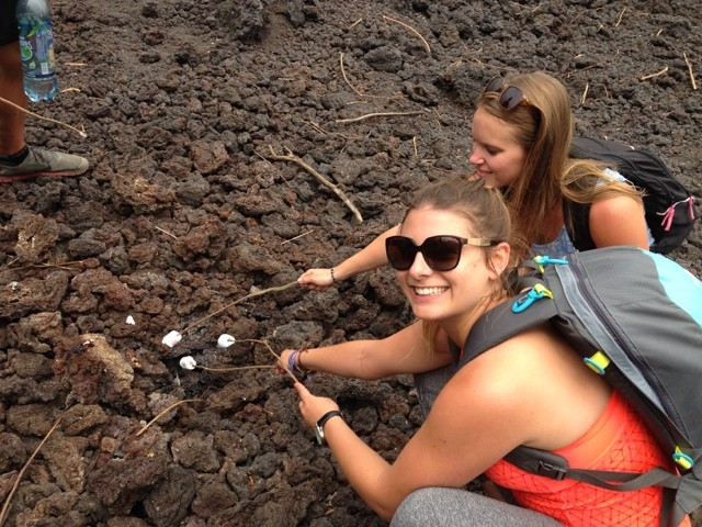Wanderlust Chloe Pacaya Volcano Marshmallows