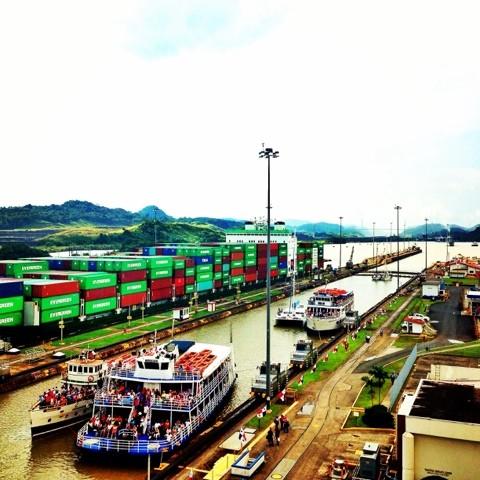 Wanderlust Chloe Panama Canal