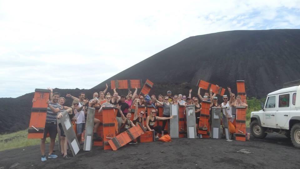 Wanderlust Chloe Volcano Boarding 1