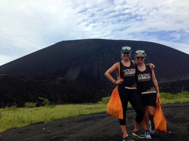 Wanderlust Chloe Volcano Boarding with Hannah