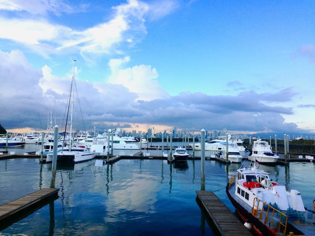 Boats in Panama City