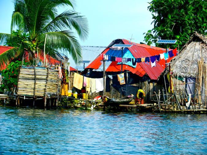 House in the San Blas Islands, Panama