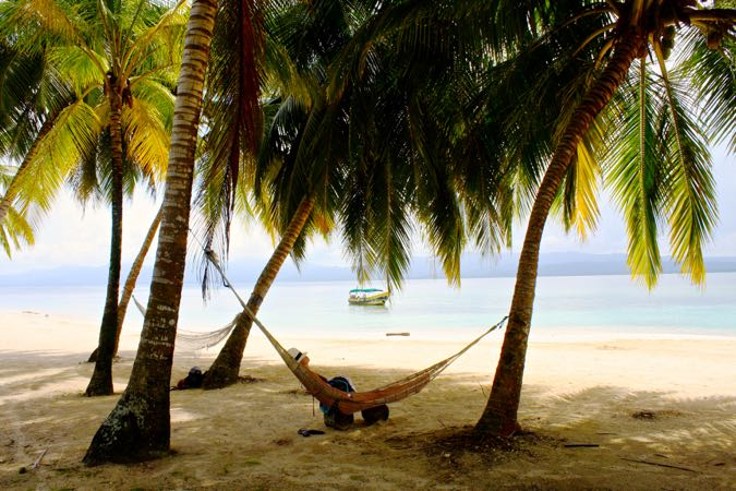 Pure relaxation in the San Blas Islands, Panama