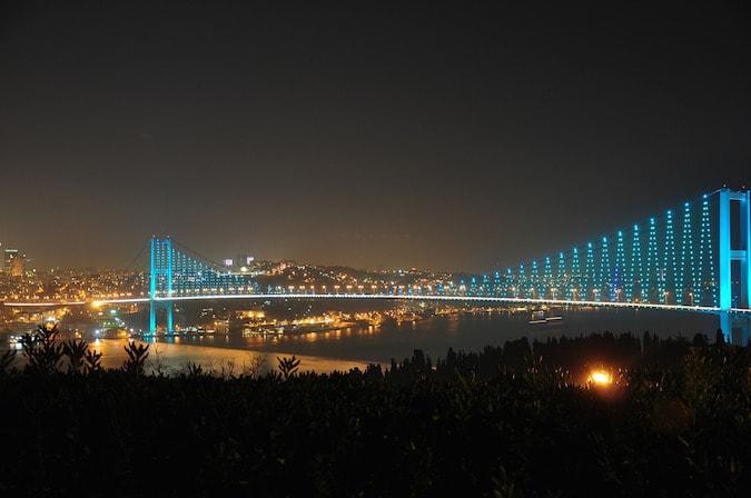 Wanderlust Chloe Istanbul Bosphorus