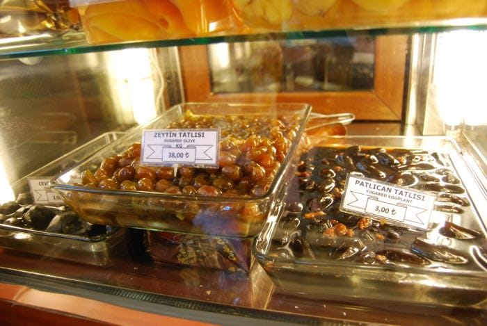 Candied everything for sale in Istanbul