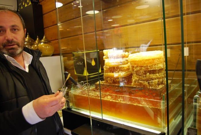 Honey store in Istanbul