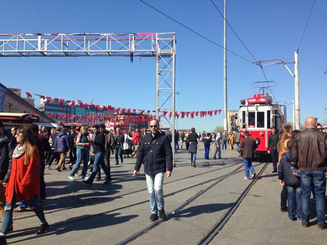 Wanderlust Chloe Taksim Square Istanbul1