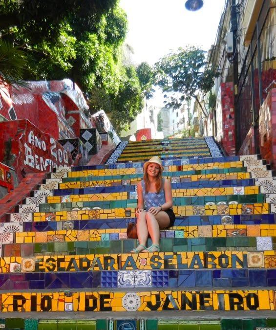 Wanderlust Chloe Lapa Steps Rio Brazil 1