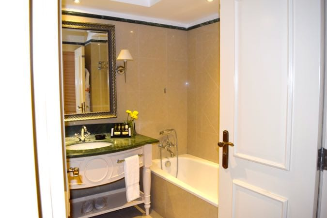 My bathroom at Sensatori Cyprus