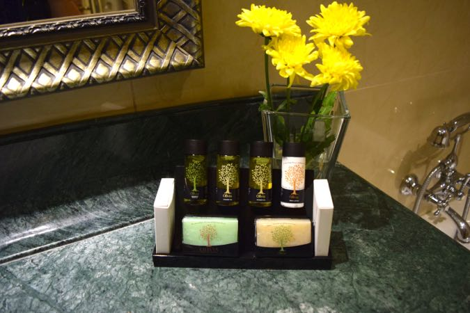 Toilettries at Tui Sensatori Resort Atlantica Aphrodite Hills
