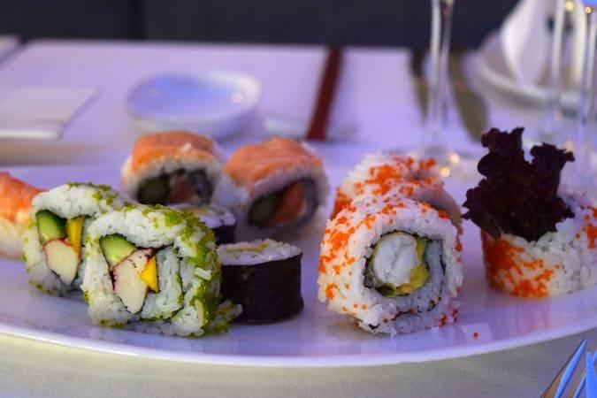Sushi at Sensatori Cyprus Hotel - Aphrodite Hills