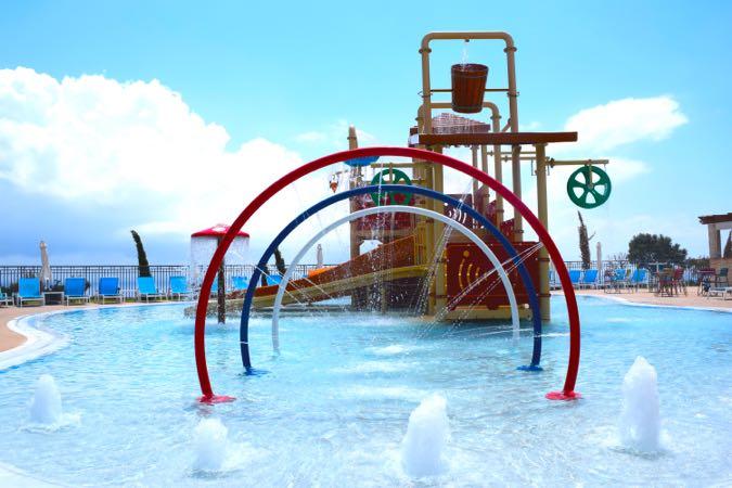 The kids pool at Sensatori Cyprus