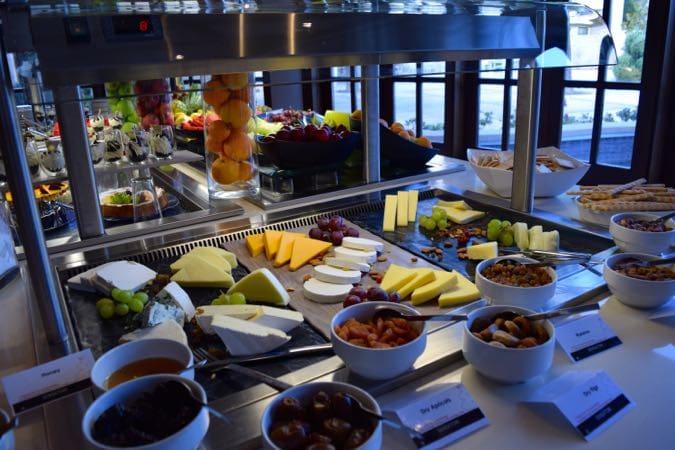 Lunch buffet at Sensatori Cyprus