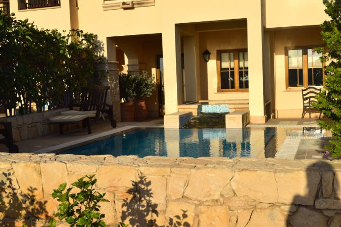 Private pools in Aphrodite Hills Cyprus
