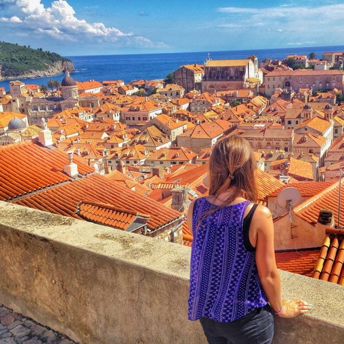 Incredible View Dubrovnik City Walls