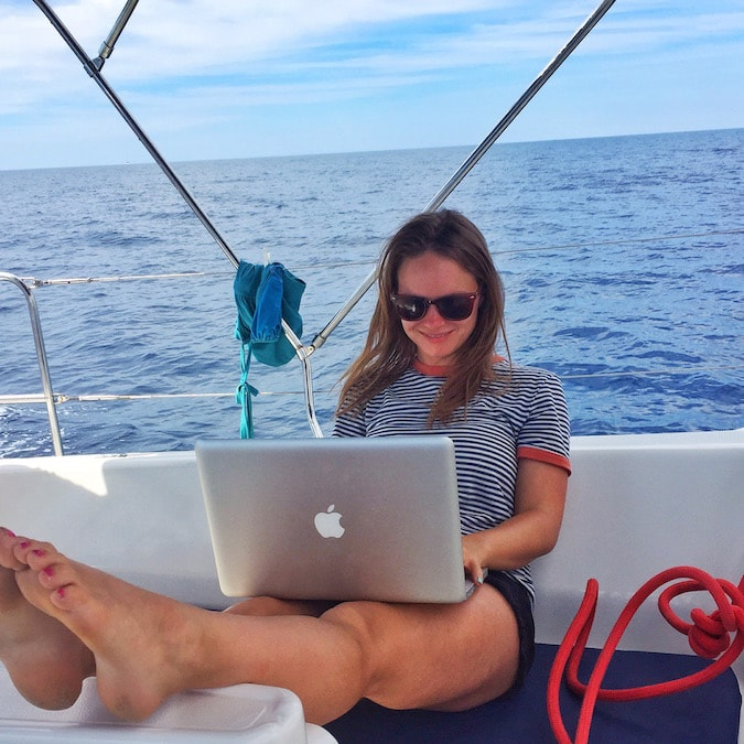 Wanderlust Chloe Boat Blogging