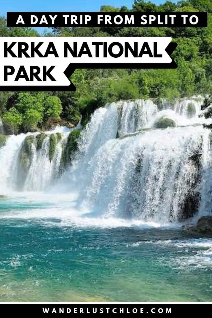 Day Trip From Split To Krka National Park