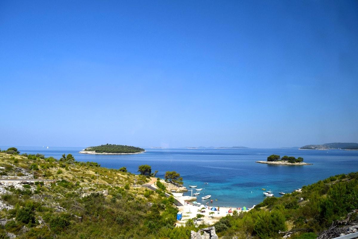 Journey from Split to Krka National Park