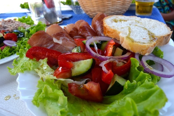 MedSailors Croatia Food