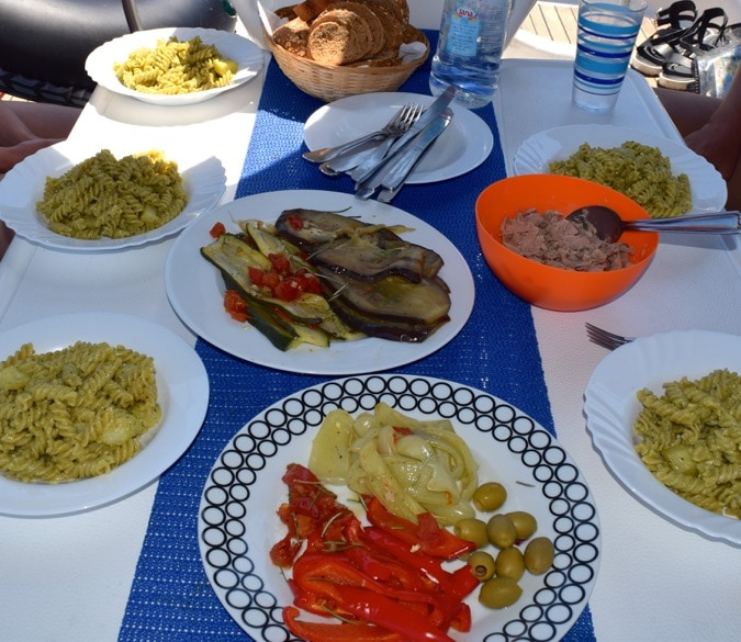 MedSailors Croatia Food