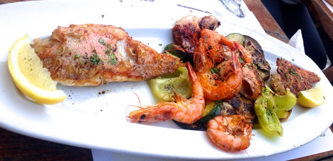 Food Marineros Hvar