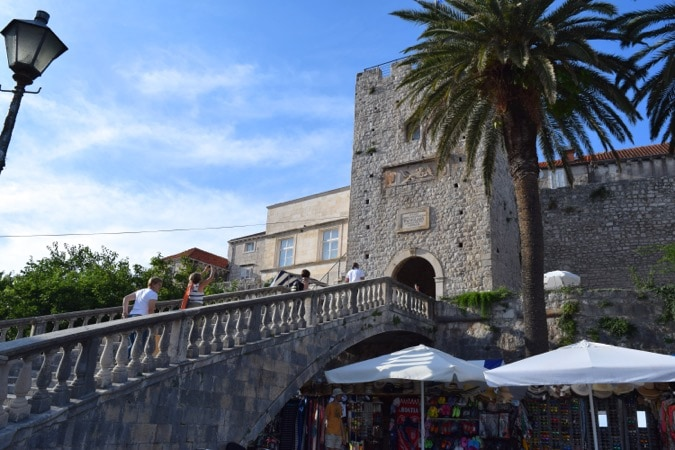 Exploring Korcula Town, Croatia