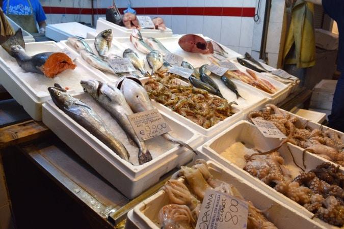Fish Thessaloniki Market