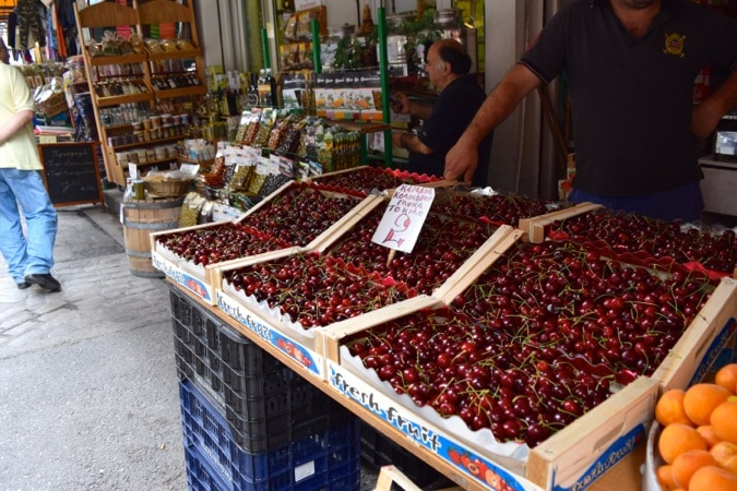 Cherries Thessaloniki