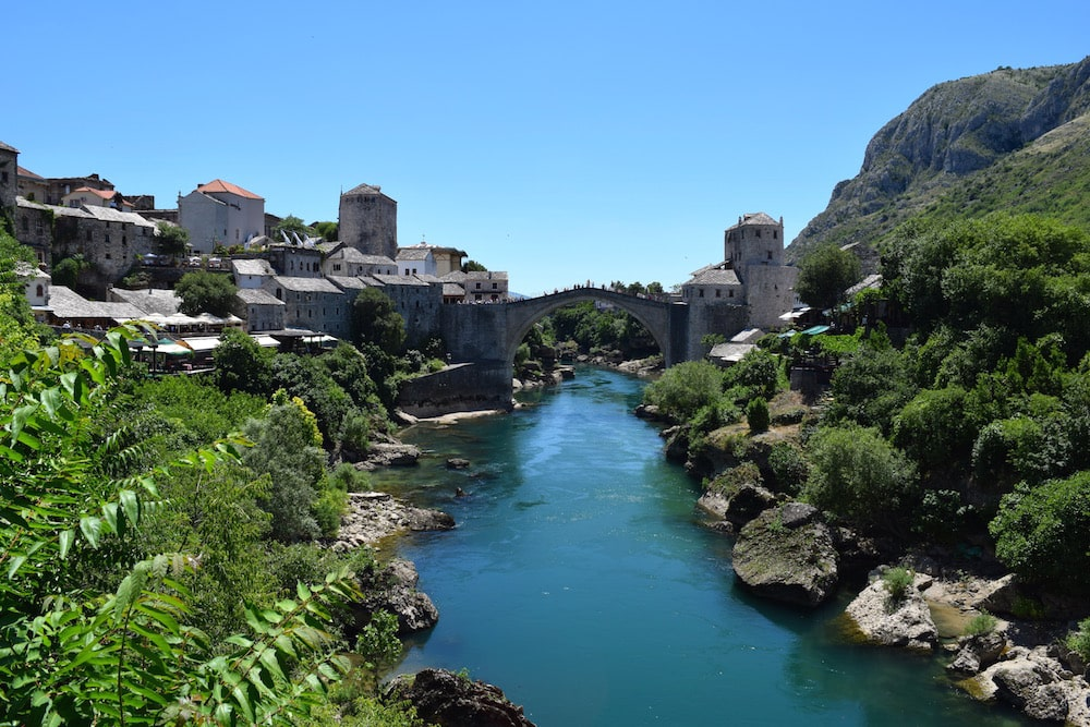 Stari Most Bridge Mostar - day trip from Dubrovnik