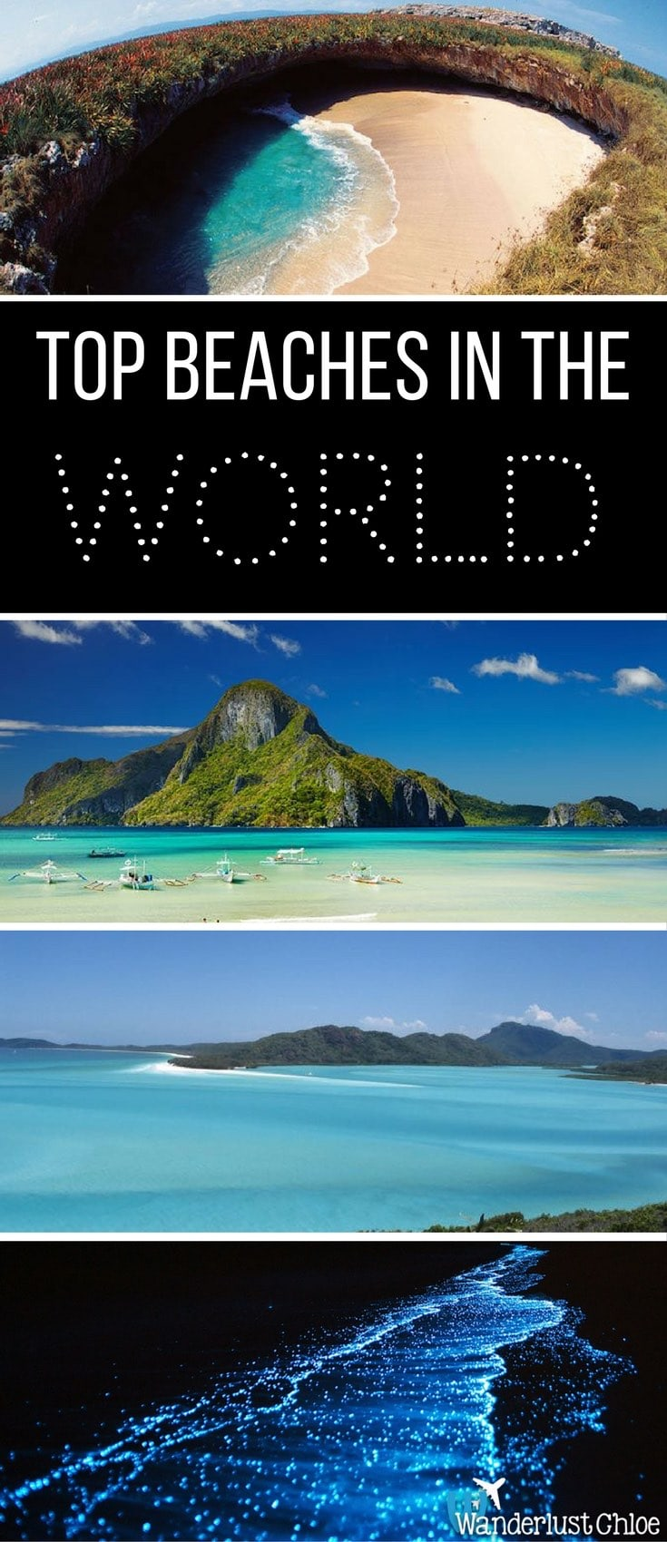 World 39 s top 9 amazing beaches for wanderlusters for Top 1 beach in the world