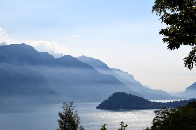 Komo ežeras ir Bellagio Mist