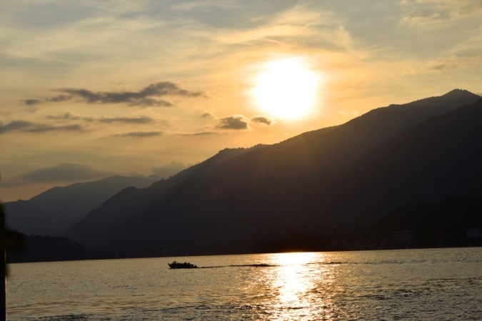 Lake Como September Sunset