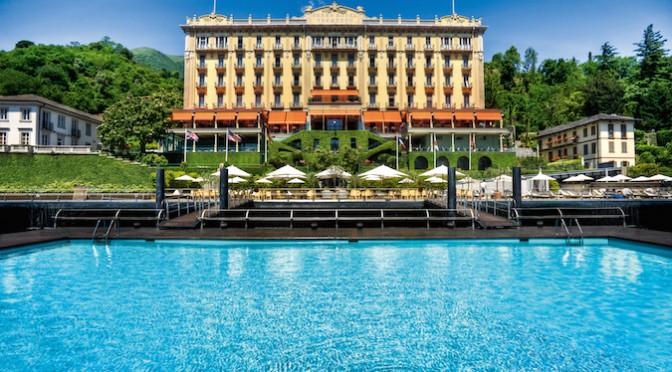 REVIEW: Lunch at T Beach, Grand Hotel Tremezzo, Lake Como, Italy