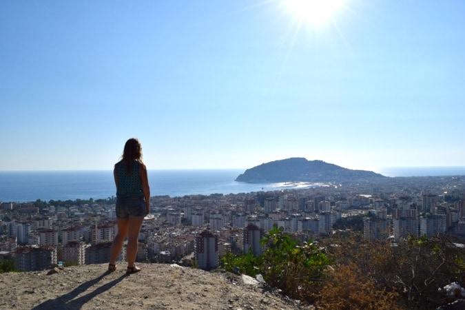 View overlooking Alanya