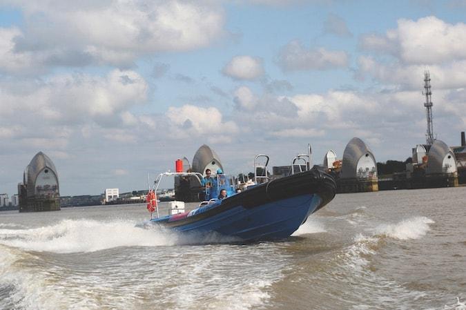 Bond Speedboat London