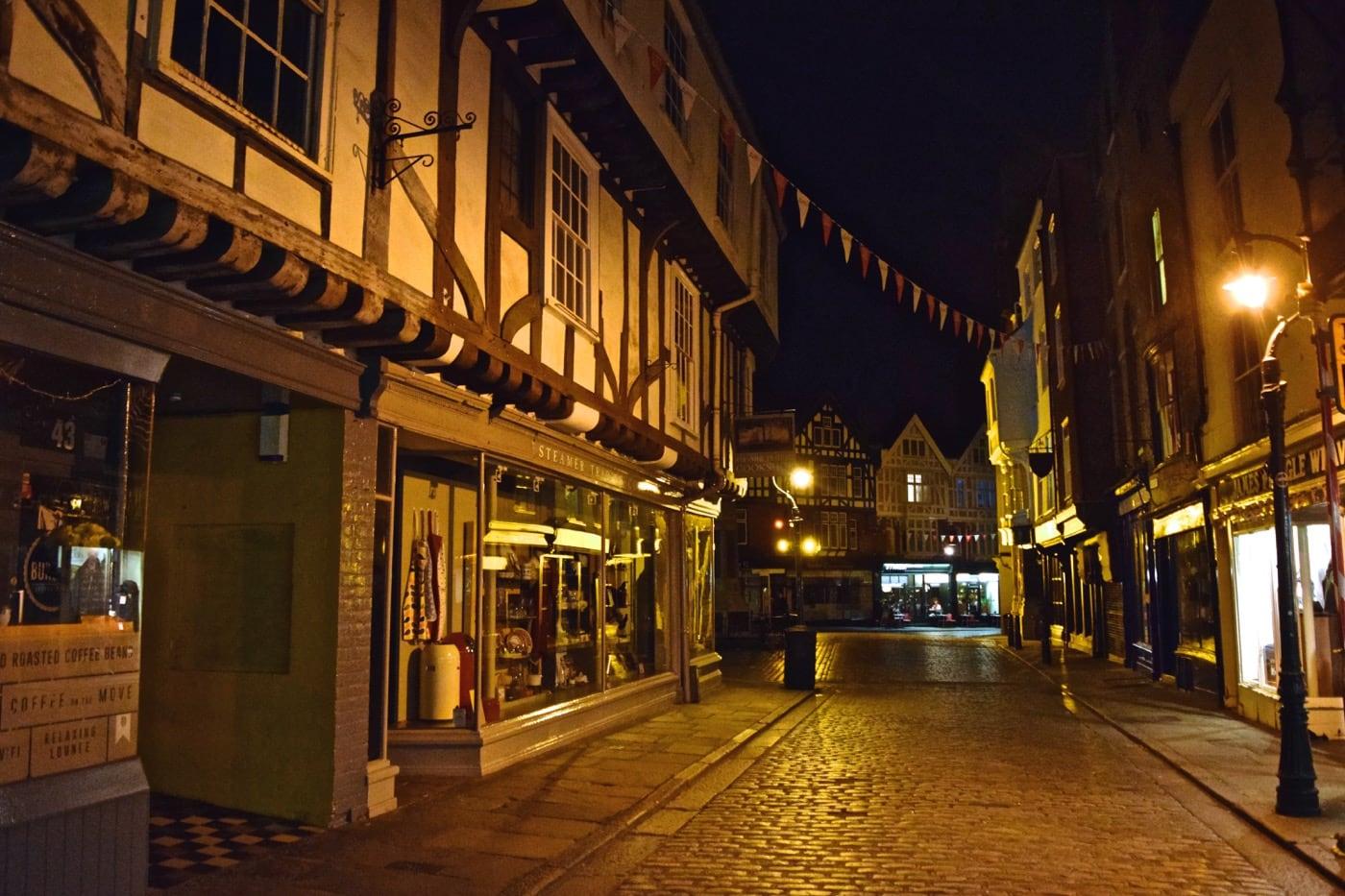 Canterbury Kent At Night