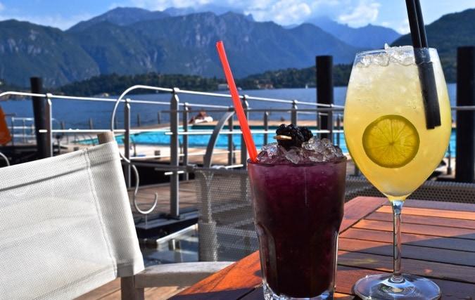 Cocktails at Grand Hotel Tremezzo