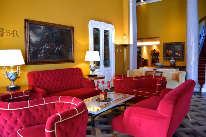 Lounge at Grand Hotel Tremezzo