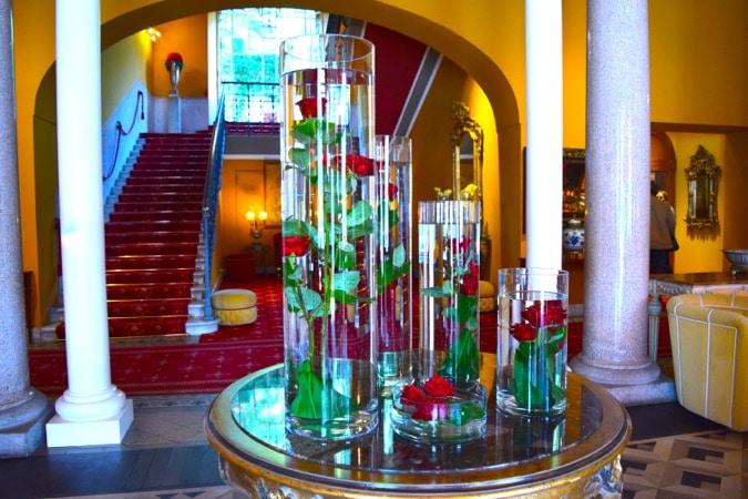 Entrance to Grand Hotel Tremezzo