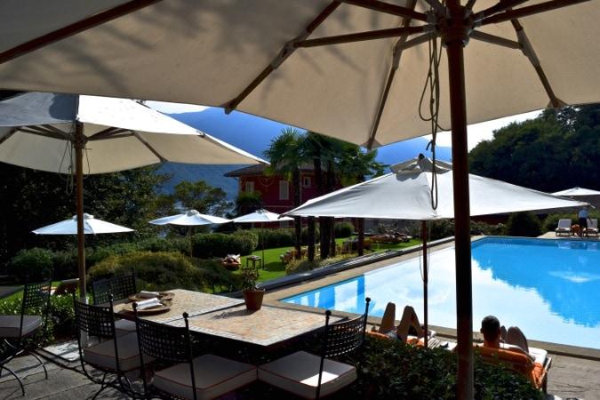 Garden Swimming Pool at Grand Hotel Tremezzo