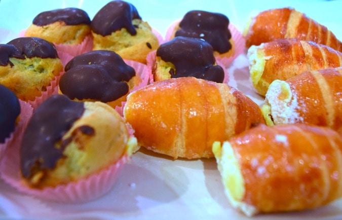 Tasty desserts on the Milan Food Tour