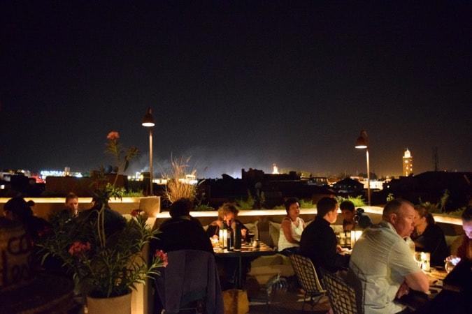 Moroccan adventures marrakech medinas jardins and for Restaurant jardin marrakech