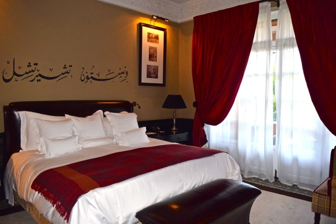 The Churchill Suite at La Mamounia Marrakech