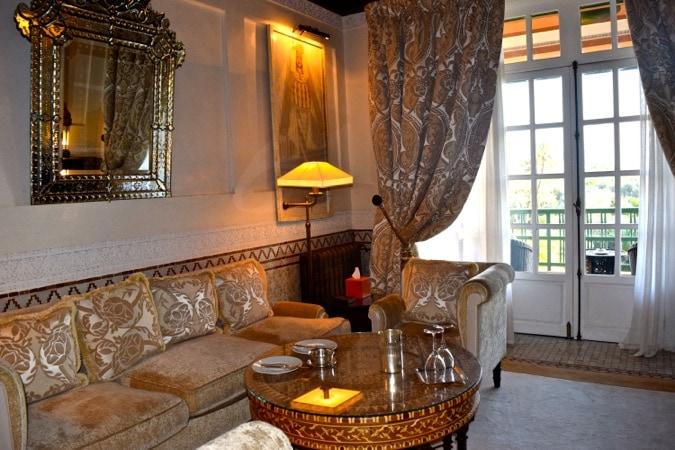 The Baldaquin Suite at La Mamounia Marrakech