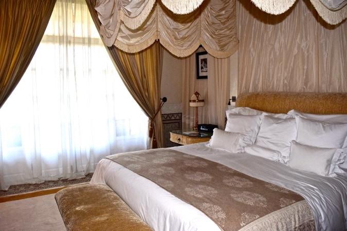 The Baldaquin Suite at La Mamounia Morocco