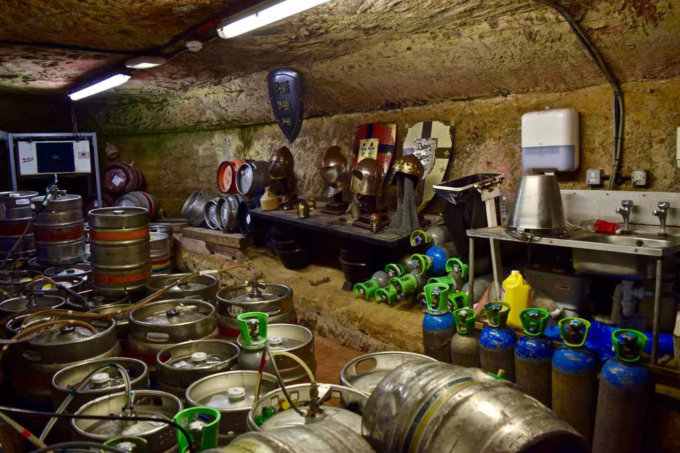 Ye Olde Trip To Jerusalem Pub, Nottingham